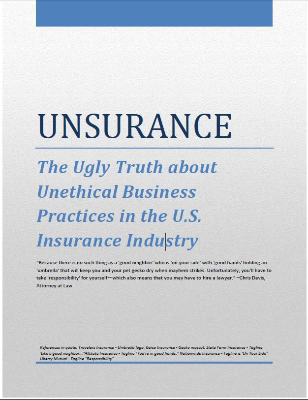 unsurance truth about unethical