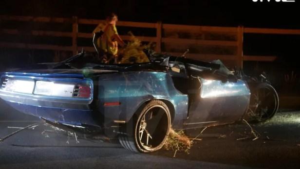 Image result for kevin hart car crash