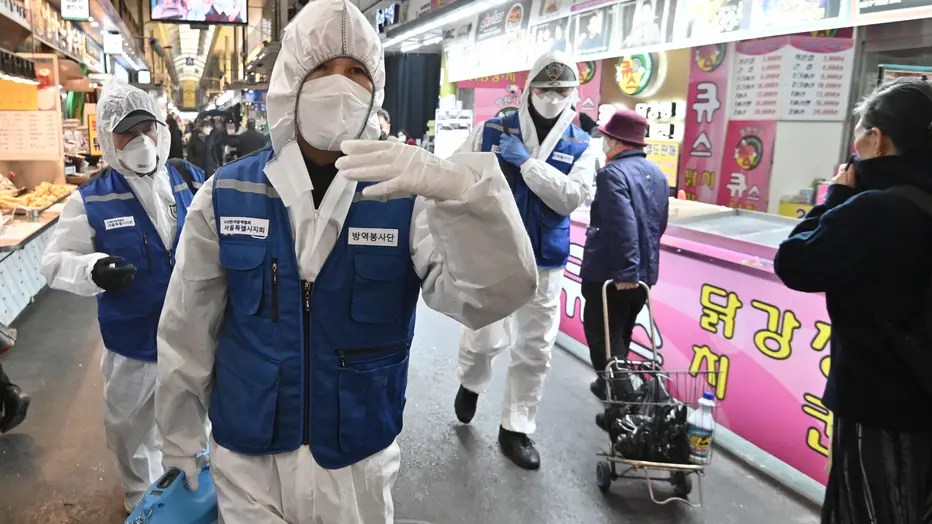 South Korea coronavirus cases jump again, 1st US soldier infected ...