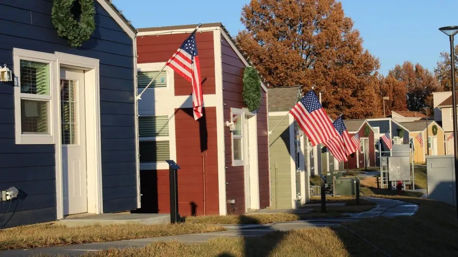 Tiny Houses In Kansas City Give Homeless Veterans A Place