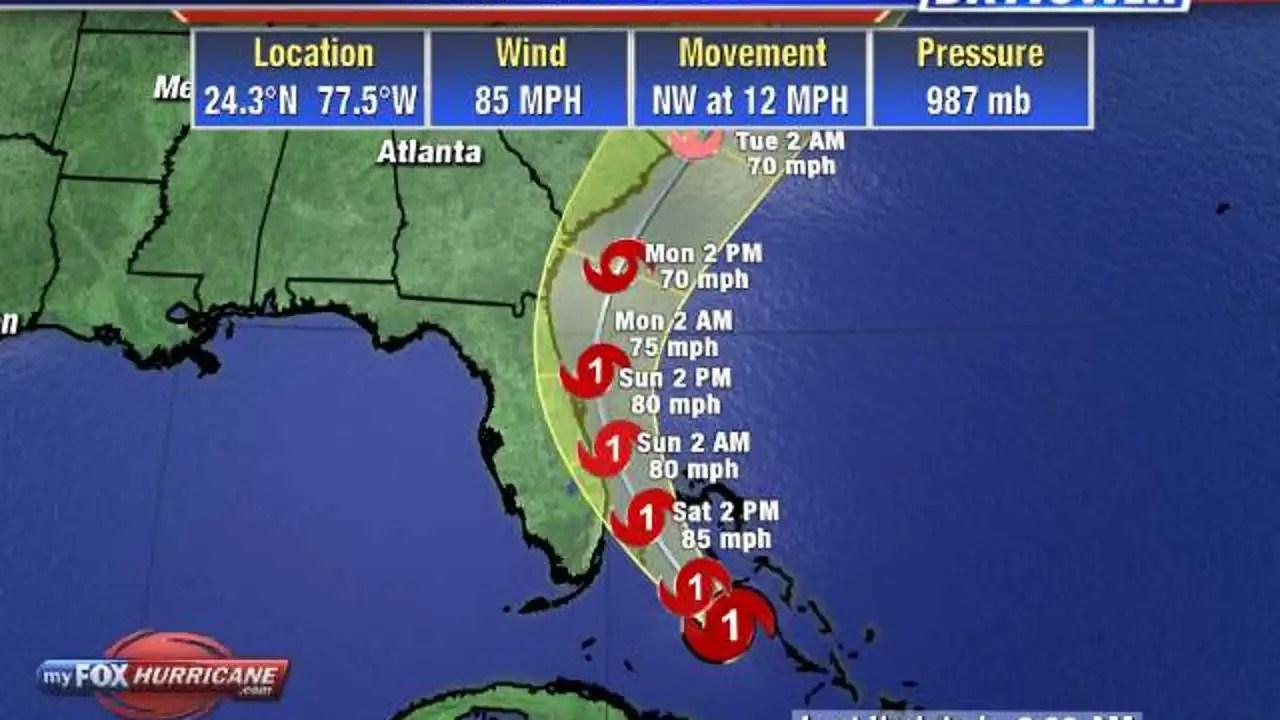 Hurricane Isaias Lashes Bahamas As Florida Battens Down