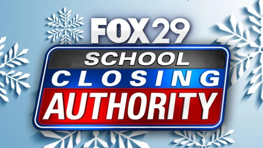 School Closings Area Schools Close Ahead Of Snowy Monday