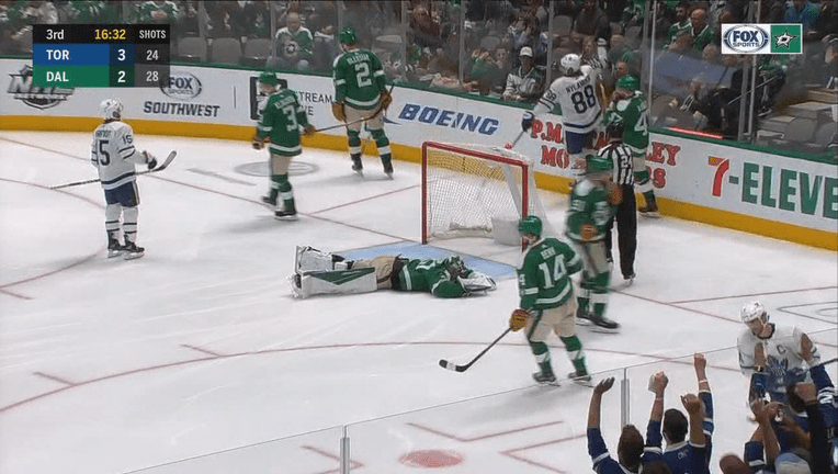 Marner Sets Up First 2 Goals Maple Leafs Beat Stars 5 3