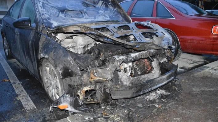 Wilson Car Fire