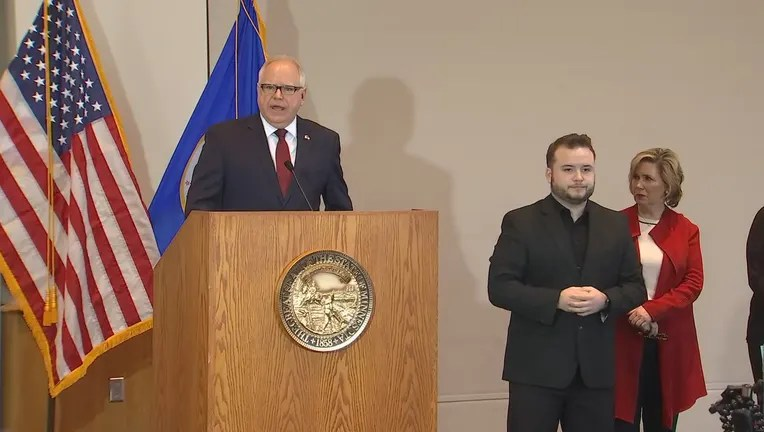 Minnesota Governor Walz Shelter In Place A Possibility