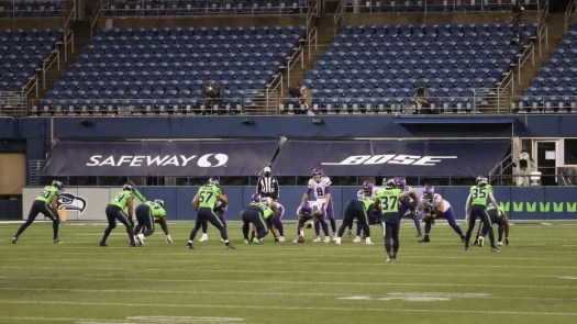 Seahawks will play without fans Nov. 19 vs. Cardinals