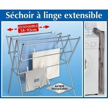 Sechoir A Linge Extensible Arts De La Table Rakuten