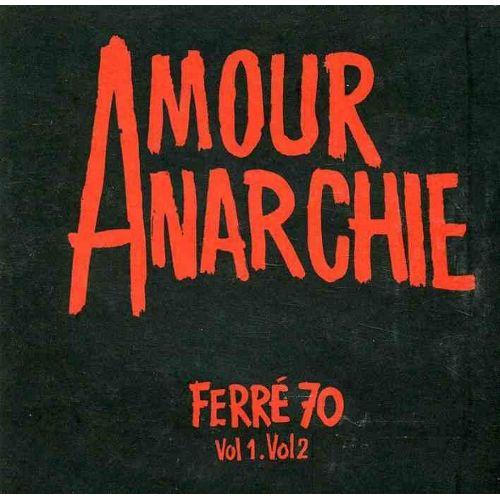 AMOUR ANARCHIE FERRE 70 VOL 1 ET 2 - CD | Rakuten