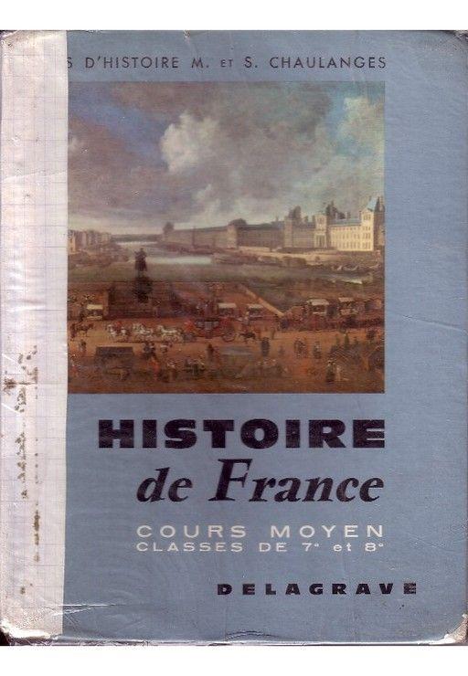 Livre D Histoire De France : livre, histoire, france, Histoire, France, Cours, Moyen, Classes, 7ème, 8ème, Rakuten