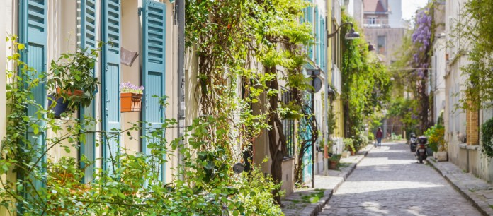La rue des Thermopyles, dans le 14e arrondissement.