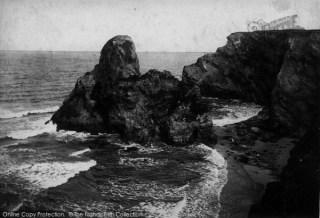 Photo of Porth, Black Humphrey Rock 1907, ref. 59341