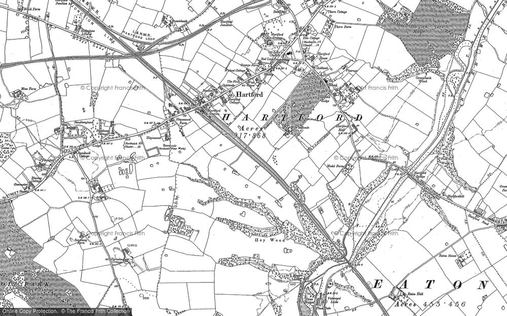 map of hartford