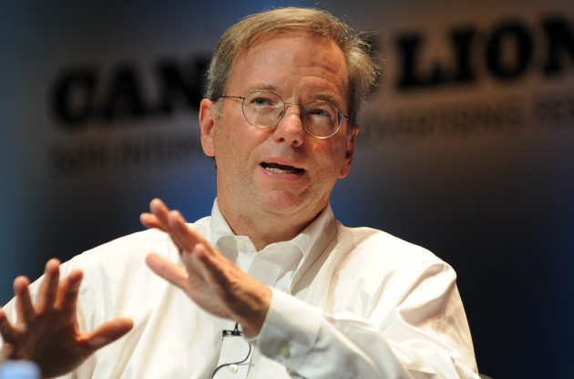 Eric Schmidt est l'ancien CEO (PDG) de Google