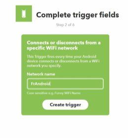 IFTTT recette wifi mute ringtone IF