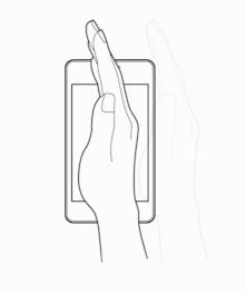 Comment fonctionne les mouvements de la paume sur Samsung