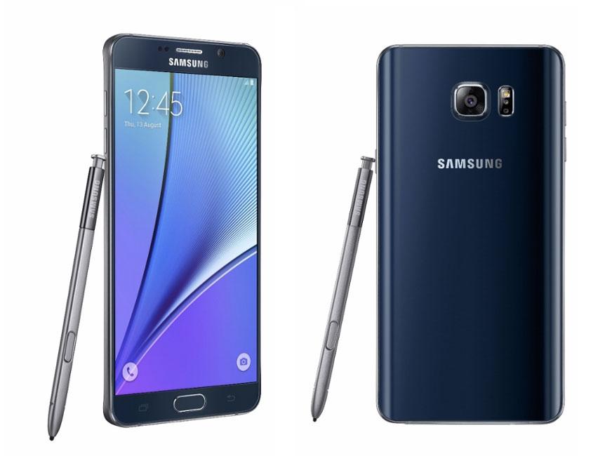 Le Samsung Galaxy Note 5 Est Officiel Caractéristiques