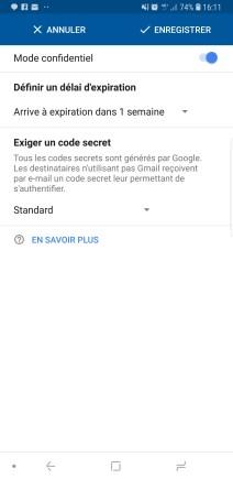 Gmail autodestruction