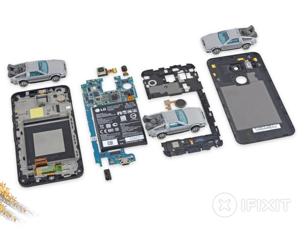 medium resolution of le nexus 5x passe chez ifixit il est un peu moins facile old cell phone parts old cell phone parts diagram