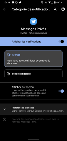 Sonnerie Android 9