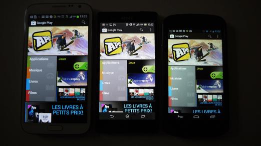 Test-Sony-Xperia-Z-Play-Store