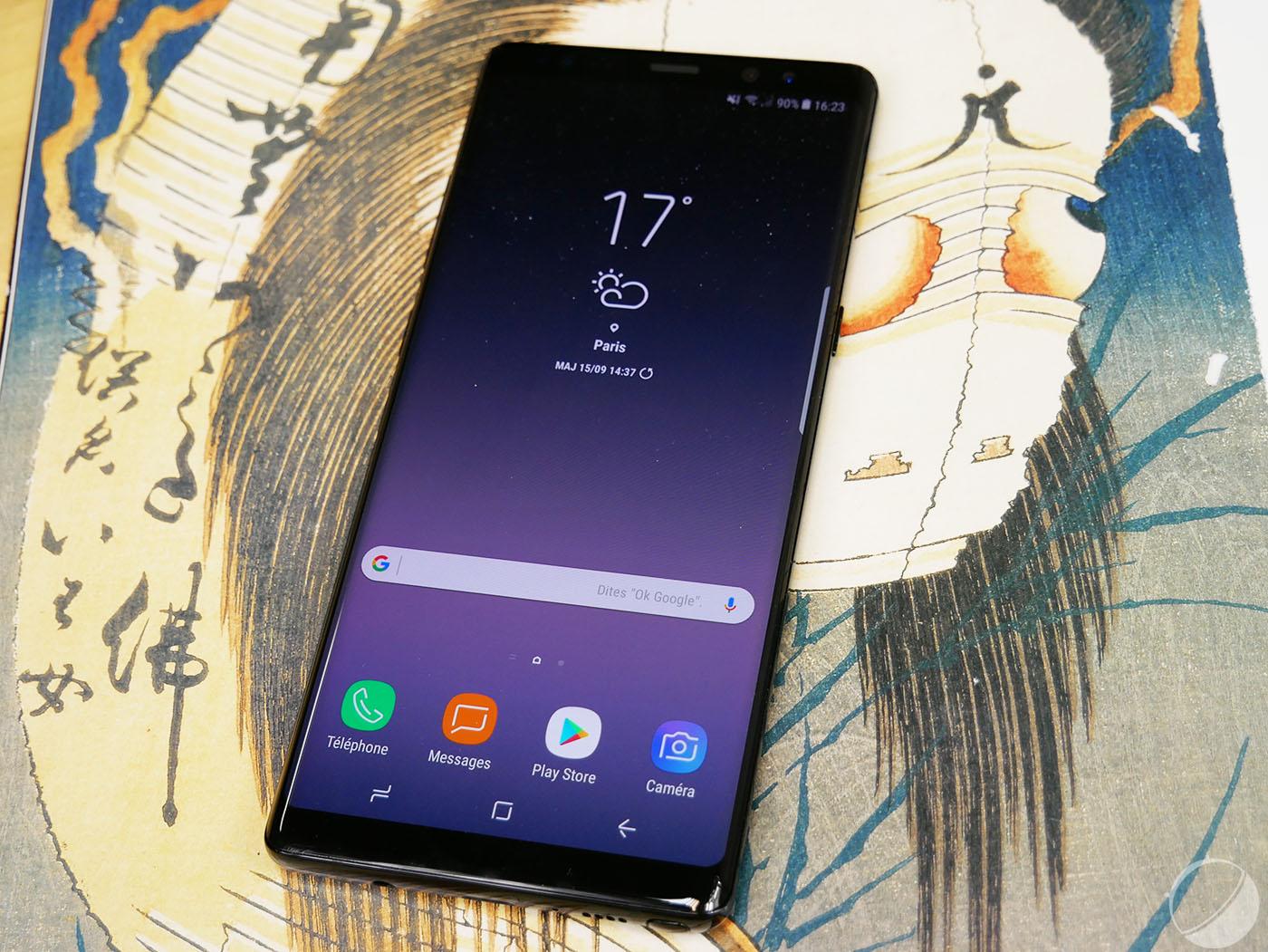 Test Samsung Galaxy Note 8 : notre avis complet - Smartphones - Frandroid
