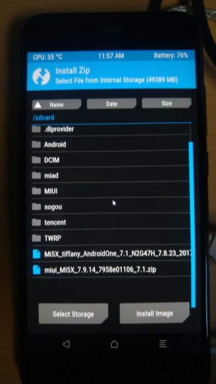tuto-xiaomi-mi-5x-android-one-twrp-install