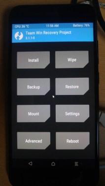 tuto-xiaomi-mi-5x-android-one-twrp-menu