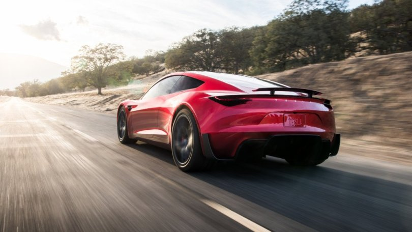 Le Tesla Roadster pourrait atteindre les 0 à 100 km/h en un peu plus d'une seconde