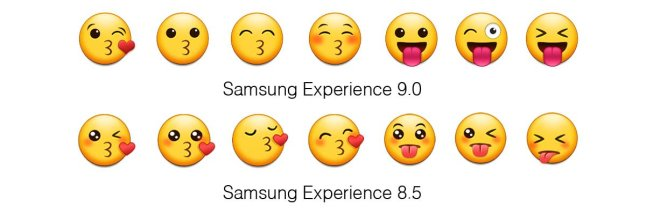 samsung-experience-9-0-emojipedia-comparison-faces-kisses-tongues