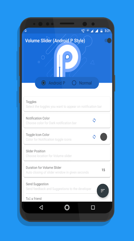 Android P app 2