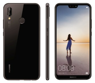 Huawei P20 Lite press render