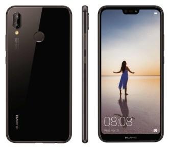 Huawei P20 Lite press render