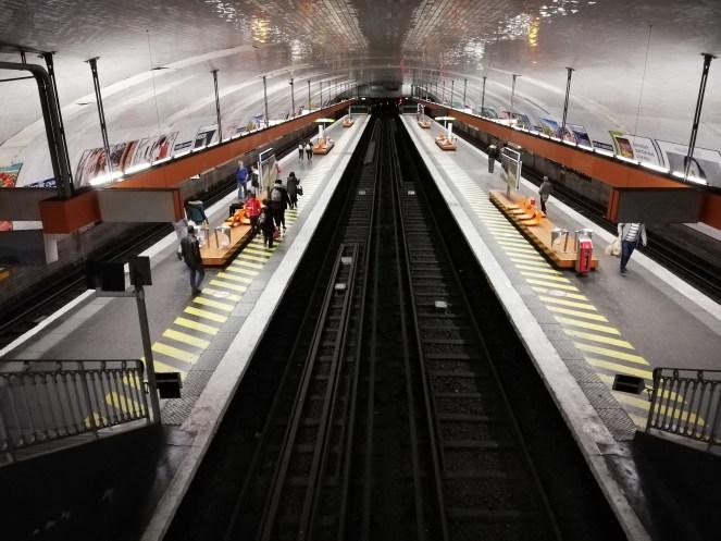 P20 Lite métro