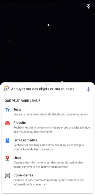 Google Lens screen 2