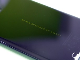 Xiaomi Mi Mix 2S design