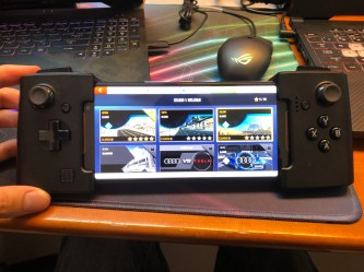 Asus RoG PHone switch manette