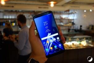 Samsung Galaxy A6 Plus face