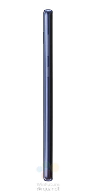 Samsung-Galaxy-Note9 bleu tranche