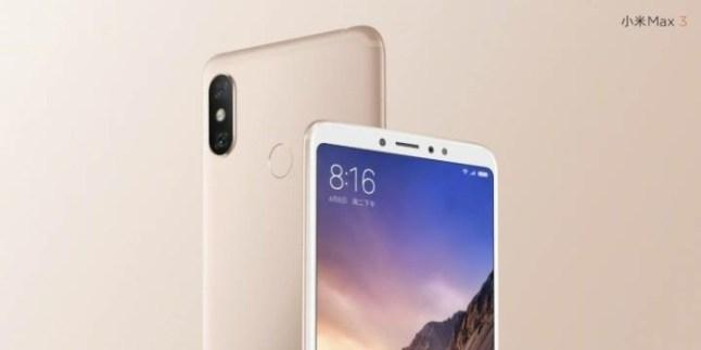 Xiaomi Mi Max 3 fa