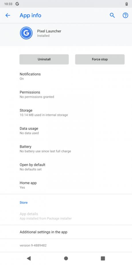 Google Pixel Launcher assistant 9-4