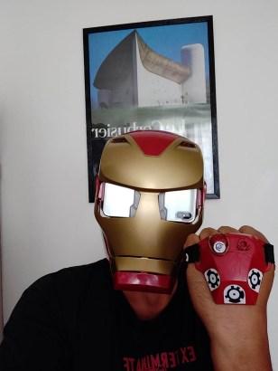 Hasbro iron Man AR Porté Homme 3