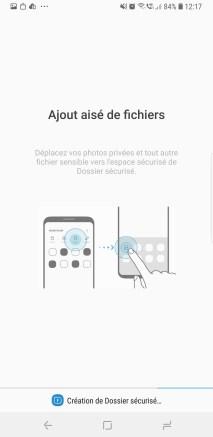 Dossier sécurisé Galaxy Note 9 b
