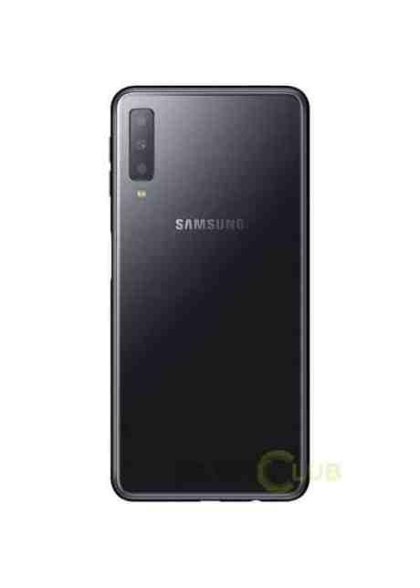 Samsung Galaxy A7 2018 rendu noir