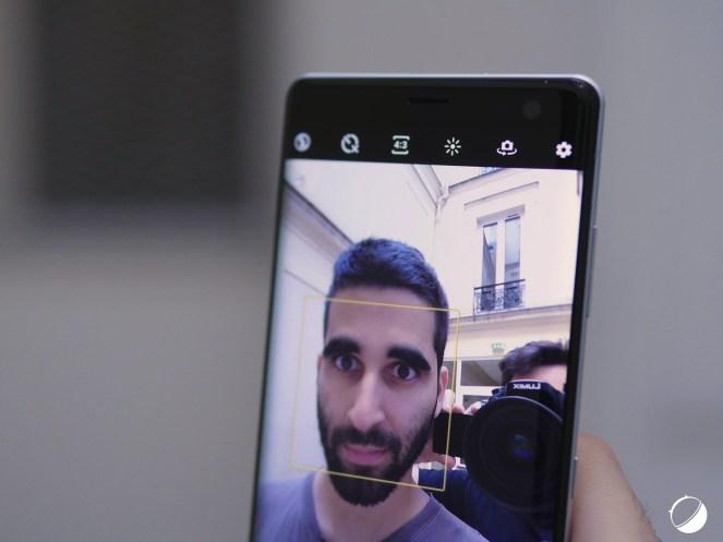 Sony Xperia XZ3 selfie 2