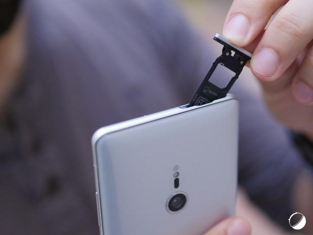 Sony Xperia XZ3 tiroir