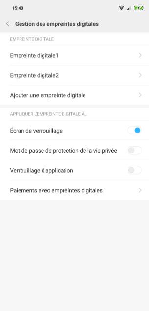 Xiaomi Mi 8 MIUI biometrie (3)