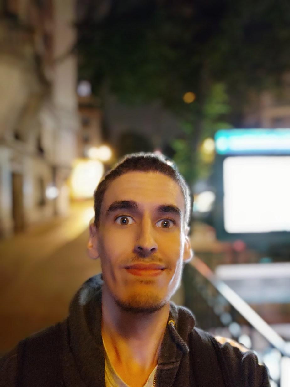 Xiaomi Mi 8 Portrait selfie (2)