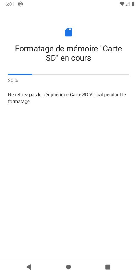Android Carte SD app tuto 3