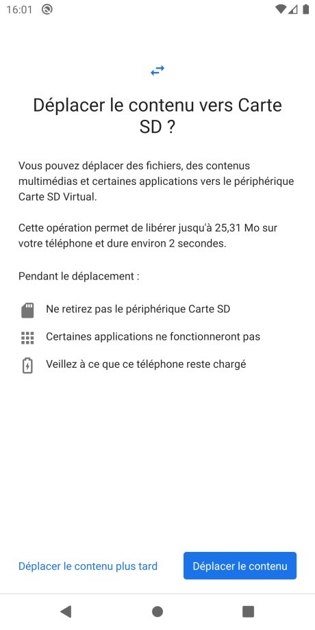 Android Carte SD app tuto 4