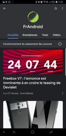 Google Actualités news 4